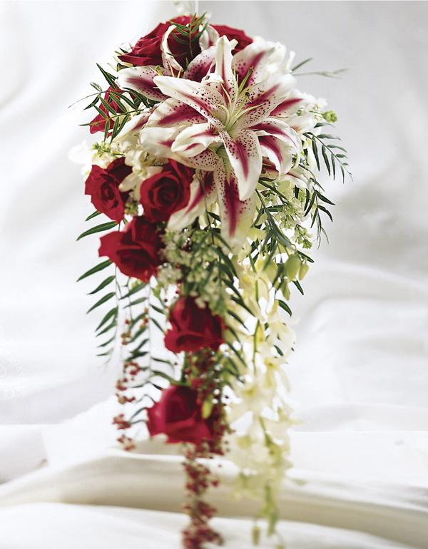 Stargazer Lilies Wedding Bouquet Stargazer Lily Wedding Bouquet